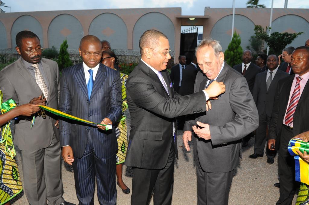 Inauguration du siège de la SCG-Ré
