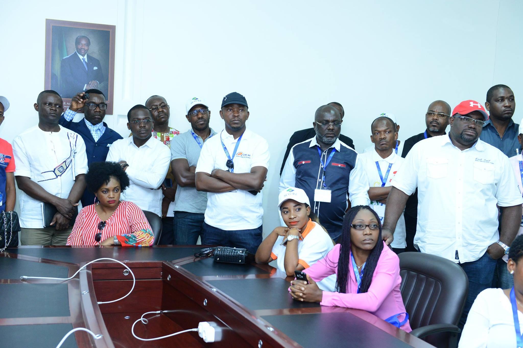 Séminaire de formation sur «la prévention des risques d'Incendie et d'explosion des entreprises «. Journée du vendredi 29 septembre 2017- Visite du Port Owendo