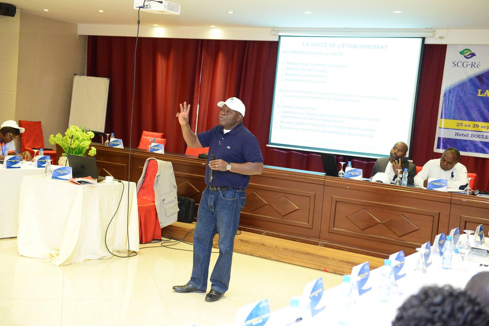 Journée du mercredi 27 septembre 2017/ Travaux sur » La méthodologie de la visite de risque»/ Intervenants : M. Marcel KOUAME , M.Judicael MAWI