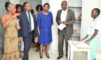 La Société Commerciale Gabonaise de Réassurance «SCG-Ré» aux côtés des enfants déficients auditifs.