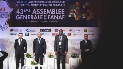 Participation de la SCG-Ré à la 43 ème Assemblée Générale de la FANAF à Tunis.