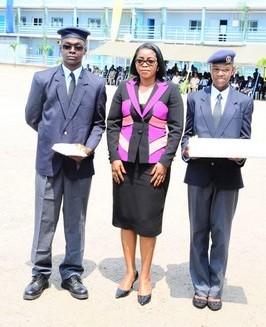 GABON / EDUCATION : Le Prytanée Militaire et la SCG-Ré célèbrent l'Excellence.