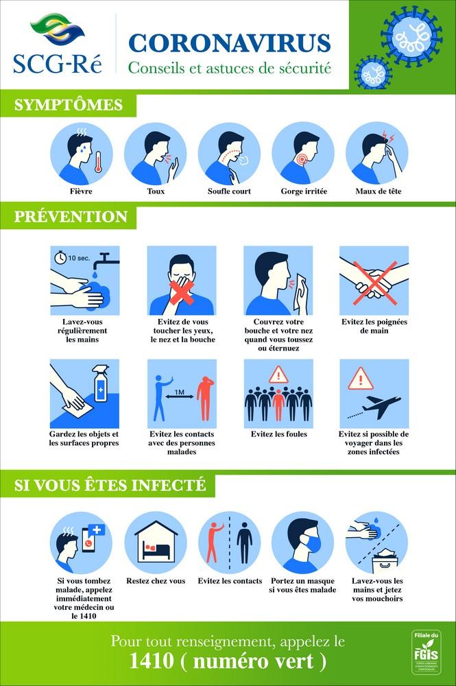 Coronavirus/conseils et astuces de sécurité