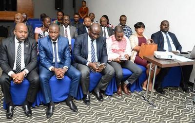 Conférence de Presse du Dr. Andrew GWODOG, Président de la FEGASA au Radisson Blu.