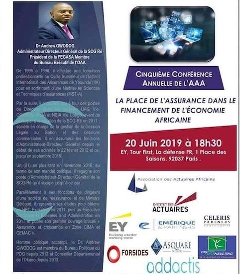 FRANCE : 5ÈME ÉDITION DE LA CONFÉRENCE ANNUELLE DE L'ASSOCIATION DES ACTUAIRES AFRICAINS (AAA)
