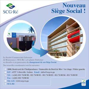 Nouveau siège social SCG-Re